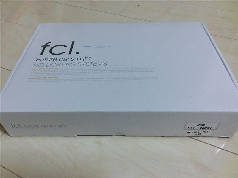 fcl 35W HIDコンバージョンキット H8 6000K