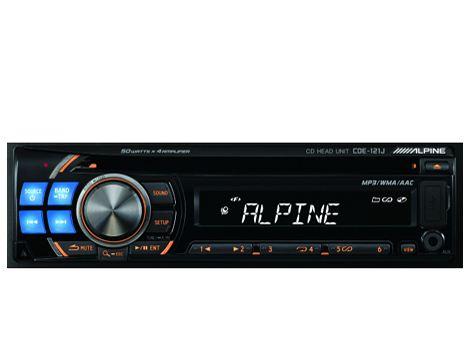 ALPINE CDE-121J