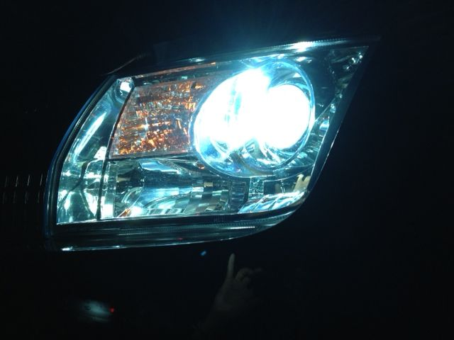 MKX不明 HID リレーレス H11 55wの単体画像