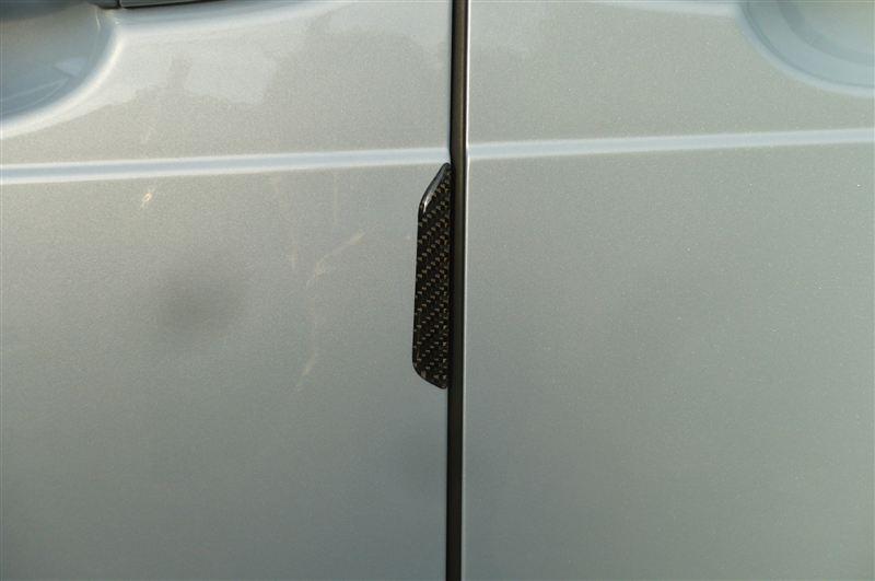 ハセプロ DP-1 マジカルカーボン ドアプロテクター4ピース  ブラック