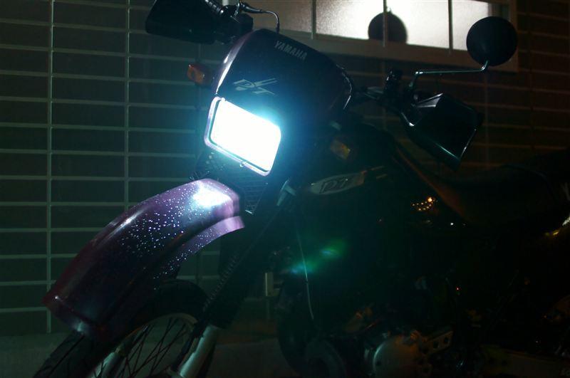 DT125R光箱 光箱■バイク省電力HIDキット簡単取付H4HiLo切替防水25W薄型の単体画像