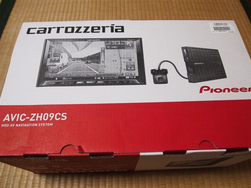 PIONEER / carrozzeria サイバーナビ AVIC-ZH09CS