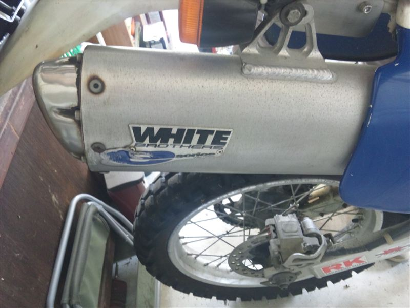 XR600Rホワイト ブロス e-シリーズの単体画像