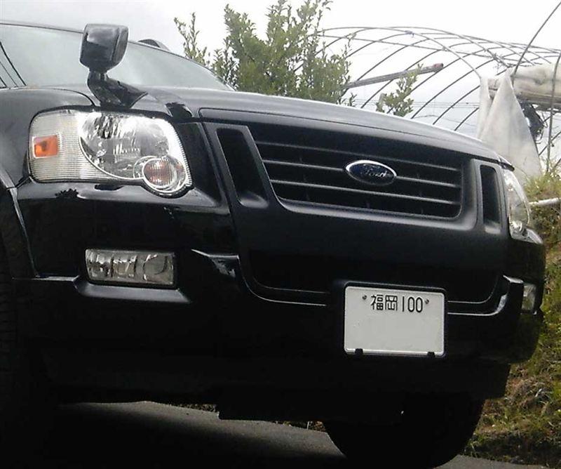 エクスプローラースポーツトラックフォード(純正) ブラックアウトグリルの単体画像