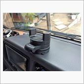 CAROZE スマートフォン用車載ホルダー FF-5508