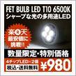 FET FET BULB LED T10 6500K