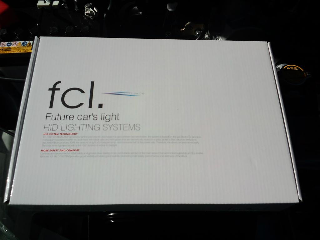 ラッシュfcl 35W HIDコンバージョンキット 6000K H11の単体画像