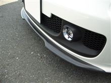 アバルト・500C (カブリオレ)YouTuneIT カーボン フロントリップスポイラーの全体画像