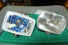 モトコンポ不明 マルチリフレクターヘッドライトの単体画像