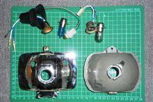 モトコンポ不明 マルチリフレクターヘッドライトの全体画像