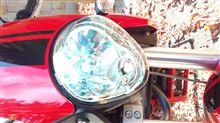 ムラセンカフェ125future car light 35W HIDキット H4(H/L) 6000Kの全体画像