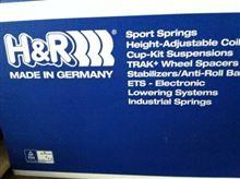 RクラスH&R スーポーツスプリングR350フロント用の単体画像