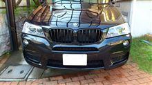 X3BMW(純正) BMW Performance ブラックキドニーグリルの単体画像