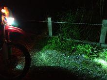 XR250 MD30ヒロチー 原付バイク用HIDキットの全体画像
