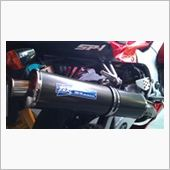 TSR (Technical Sports Racing) EURO-TSR カーボンスリップオンマフラー
