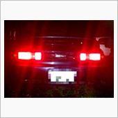 CAR MATE / カーメイト LEDライセンスランプ LSホワイト Bタイプ シングル BW132