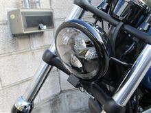 ソフテイル FXS ブラックラインHARLEY-DAVIDSON LEDヘッドライト の全体画像