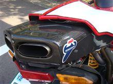 749Sテルミニョーニ スリップオンマフラーの単体画像