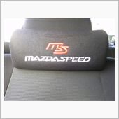 MAZPARTS MAZDASPEEDロゴ入り ネックパッド