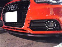 A1SEAT純正(セアト) Cupra R フロントリップスポイラーの単体画像