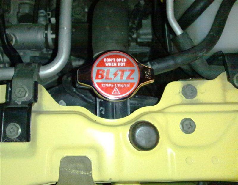 BLITZ RACING RADIATOR CAP TYPE-2