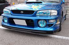 インプレッサハードトップセダンないる屋 WRC00タイプ ハーフスポイラーの単体画像