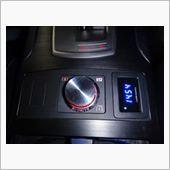 audio-technica デジタル電圧計 AT-DMX3 BL