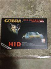 206 (ハッチバック)COBRA HID 薄型55W-6000Kの単体画像