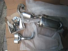 ロードスターs-mann Exhaust S-Flow Centre Twin Stainless の単体画像
