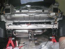 ロードスターs-mann Exhaust S-Flow Centre Twin Stainless の全体画像
