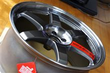 インプレッサ WRX STIRAYS VOLK RACING VOLK RACING TE37SLの全体画像