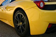 458イタリアフェラーリ(純正) 10スポークホイール&チタンボルトセット(モノクローム)の全体画像
