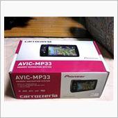 PIONEER / carrozzeria 楽ナビ AVIC-MP33