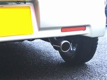 ワゴンRスティングレーSUZUKI SPORT / IRD SUZUKI SPORT Racing ストリートマフラーの単体画像