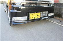 ピクシススペースカスタムトヨタ純正部品 フロントコ-ナースポイラーの単体画像