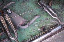 カマロ コンバーチブルVOLCANO カマロ用ワンオフマフラーの単体画像