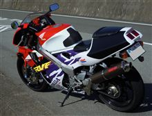 RVF400RYAMAMOTOレーシング スペックA スリップオンマフラー カーボンの全体画像