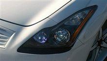 G37 coupe日産(純正) 日産純正ヘッドライトの単体画像