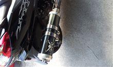 マジェスティ YP250コタニモータース BLITZマフラーの単体画像
