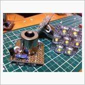 自作 自作LEDマーカーランプ