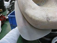 ヨーロッパテクニカルショップハッピー フロントリップスポイラーの単体画像