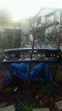 インプレッサ スポーツワゴン WRXC-WEST フロントバンパーの単体画像