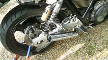 ZRX1100ゼットファーザー ZZYA ショート管の単体画像