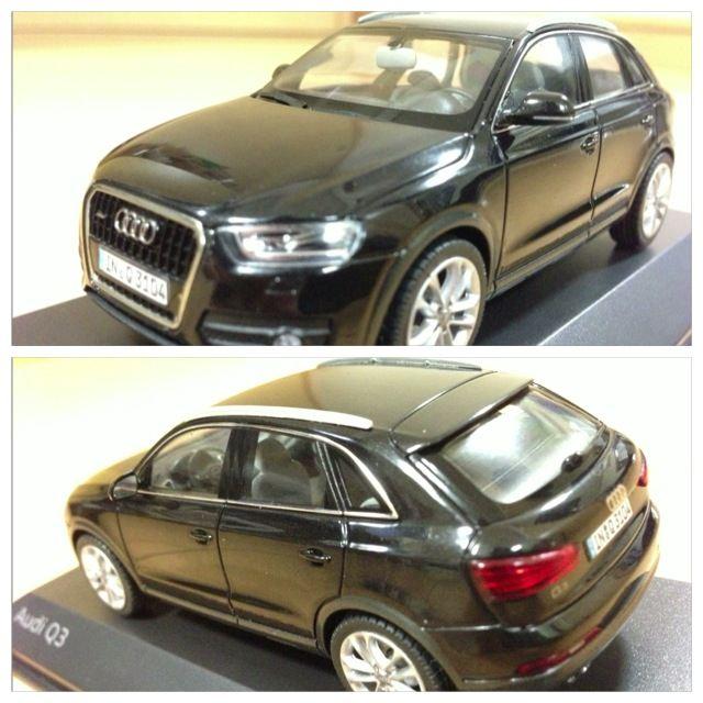 Audi Q3 1/43 ミニカー
