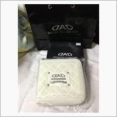 GARSON / D.A.D LUXURY CD CASE type MONOGRAM LEATHER  ホワイト