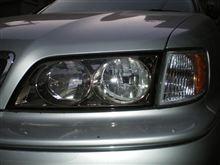 I日産純正 ワゴン後期 スポーティパッケージ用ヘッドライトの単体画像