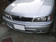 I日産純正 ワゴン後期 スポーティパッケージ用ヘッドライトの全体画像
