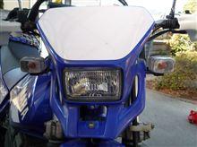 TT250Rヤマハ(純正) WR250純正 ヘッドライトの単体画像