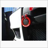 ㈱オクヤマ(CARBING) Evo10(CZ4A) フリップアップトーイングフック フロント