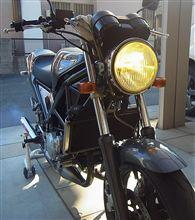 R1-ZFET CATZ MOTO ライジングイエローの全体画像